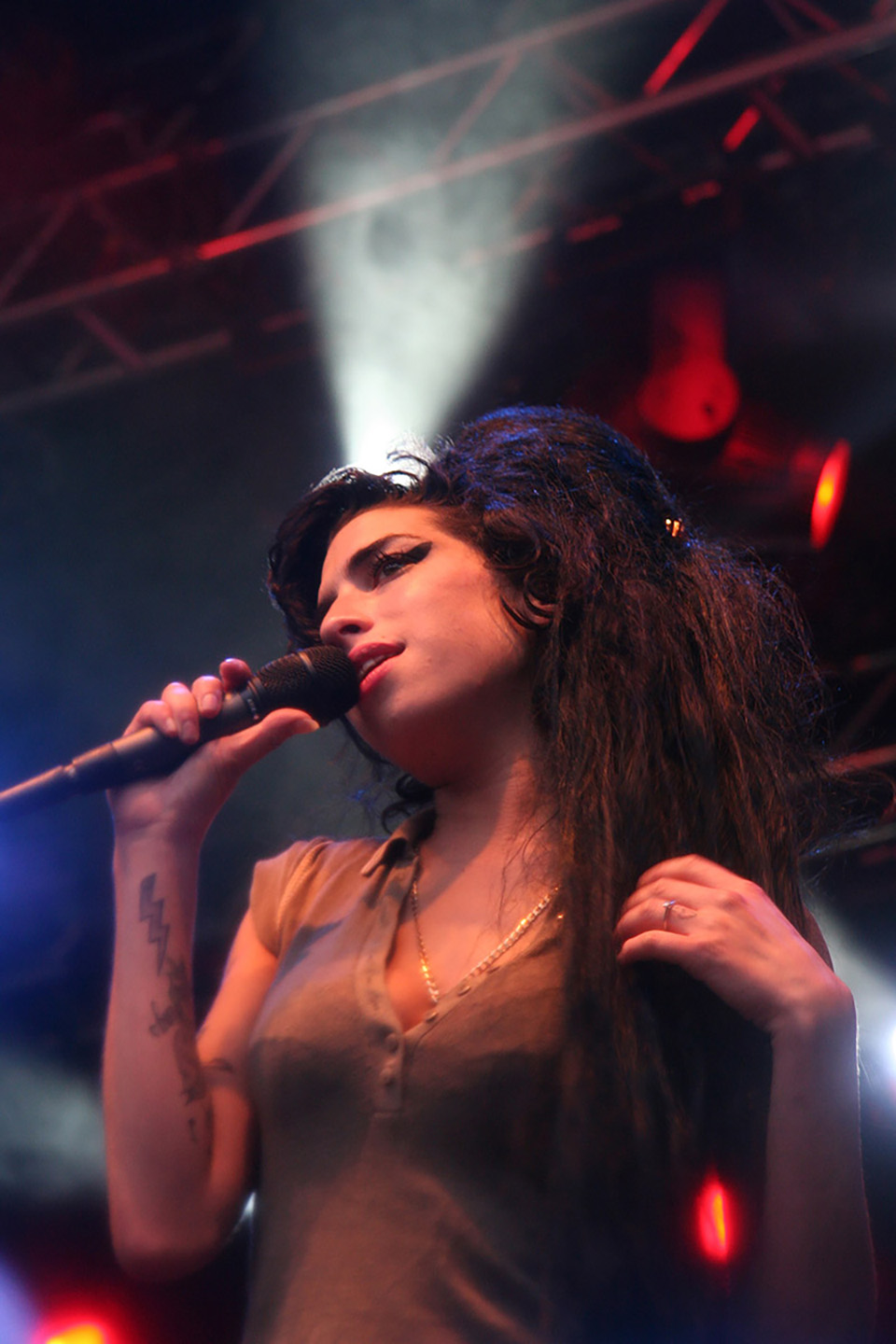 amy winehouse - hove festival