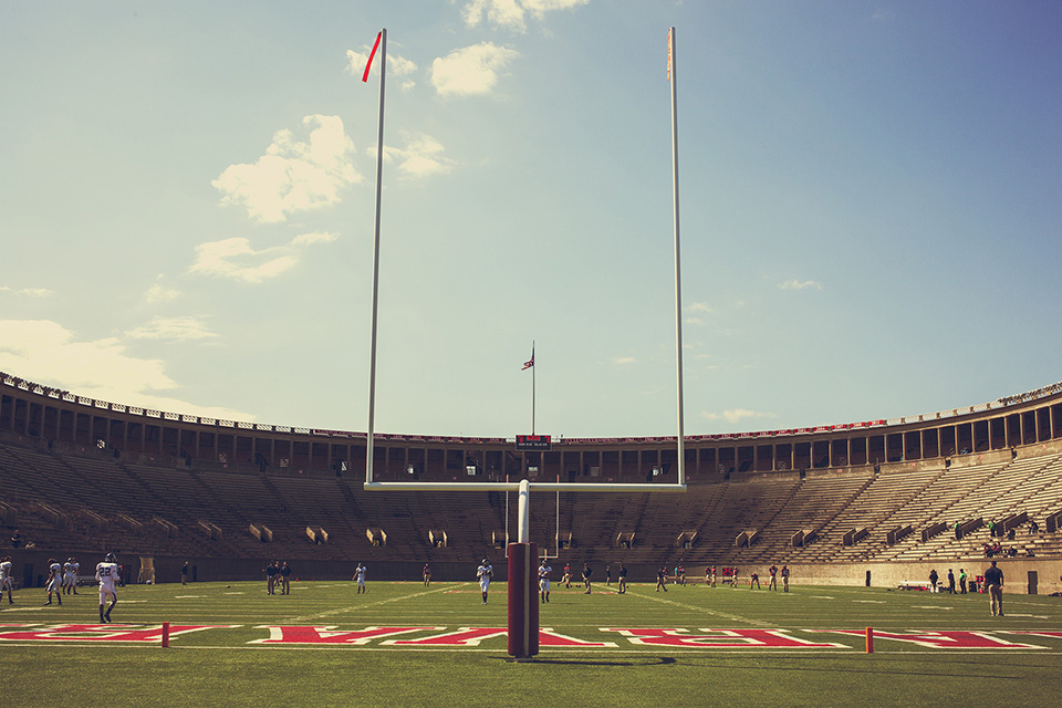 boston - harvard stadium