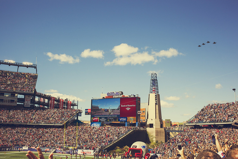 boston - gillette stadium