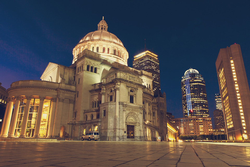 boston - the first church of christ