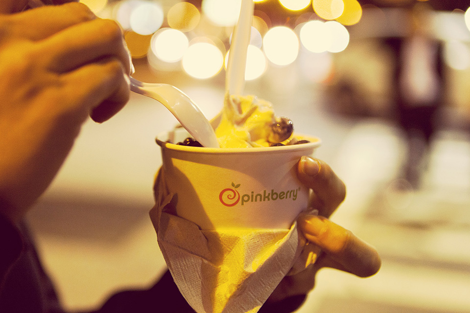 boston - pinkberry