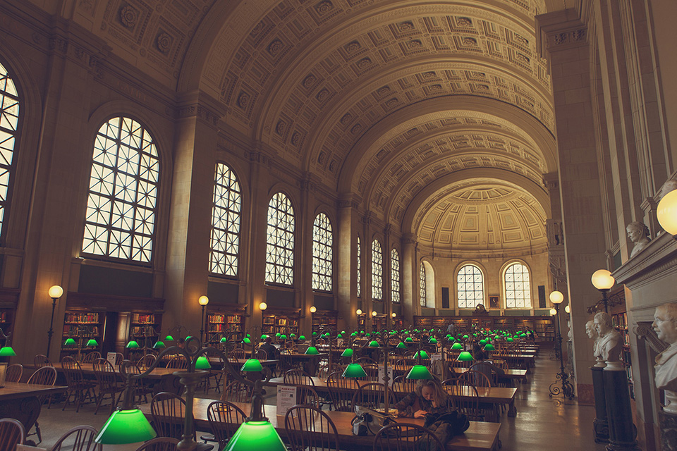 boston - boston public library
