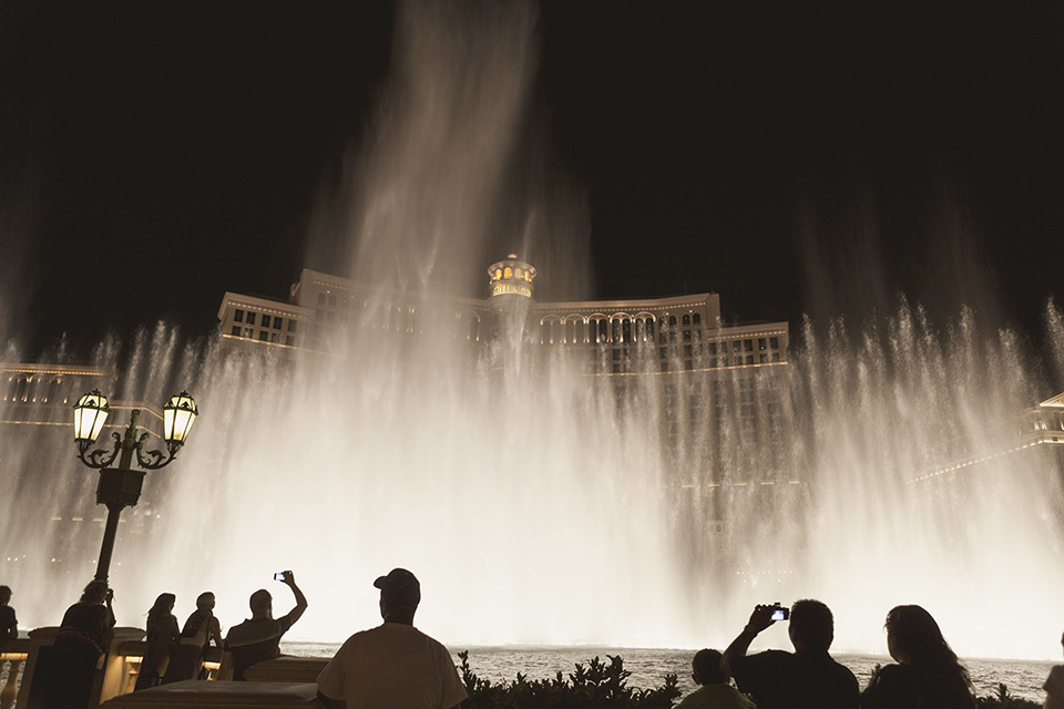 las vegas - fountains at bellagio