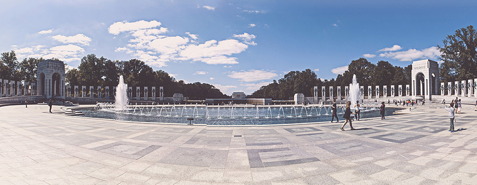washington d.c. - world war 2 memorial